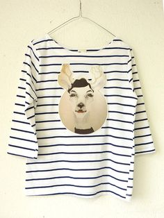 An arty twist in traditional stripes. #EtsyGermany