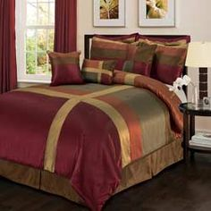@Overstock - Add exotic colors to your decor with this Lush Decor 8-piece comforter set. Matching bed skirt and throw pillows provide finishing touches on this comforter set.http://www.overstock.com/Bedding-Bath/Lush-Decor-Iman-8-Piece-Comforter-Set/5919602/product.html?CID=214117 $99.99