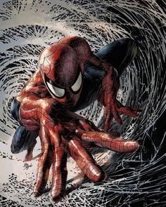 I want this game. Now. Spider-Man, by Rain Beredo.