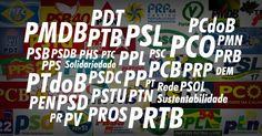 """Existem atualmente 32 partidos políticos no Brasil e mais um aguardando registro do TSE (Tribunal Superior Eleitoral). São tantos que as siglas acabam virando uma """"sopa de letrinhas"""" na cabeça do eleitor. Por isso, o UOL reuniu cada uma delas, seus principais representantes e quanto receberam, no ano passado, dos R$ 286,2 milhões destinados ao Fundo Partidário"""