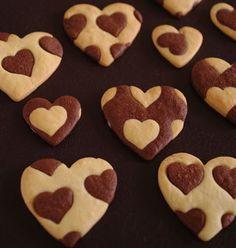 ハートハートクッキー*レシピ