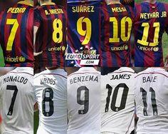 Barca vs Madrid