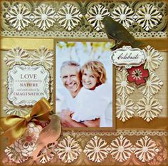 Anna was on HSN yesterday and debuted some of her gorgeous new products. One of my favorites are the new flourish and floral dies. Anna Griffin Inc, Anna Griffin Cards, Wedding Scrapbook Pages, Scrapbook Cards, Paper Crafts, Diy Crafts, Scrapbooking Layouts, Stampin Up Cards, Flourish