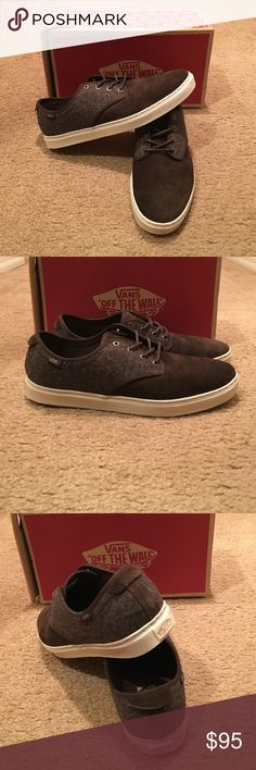 8e29a1049b6 Ludlow Tweed Vans New in box. Brown turtle Dove Vans Shoes Sneakers Tênis  Vans