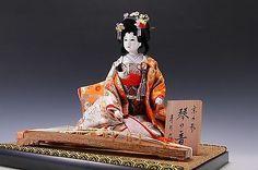 Beautiful Japanese Geisha Doll -Kyoto doll- Rare!