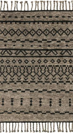 Joanna Gaines Of Magnolia Home - Tulum Collection - Graphite / Black