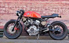 Yamaha Virago Cafe Racer by Moto-Von #motorcycles #caferacer #motos   caferacerpasion.com