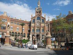 "болница ""Св.Кръст и Св. Павел"" – Барселона, Испания"