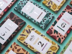 ACH Vegan Chocolate         on          Packaging of the World - Creative Package Design Gallery