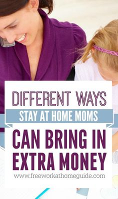 Make Money Online - Work from Home - Online jobs is the best option for moms to make money and still spend time with their kids.
