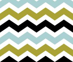 olive chevron fabric by addilou for sale on Spoonflower - custom fabric, wallpaper and wall decals