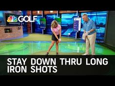 How to Stay Down Through Long Irons Shots | Golf Channel - YouTube