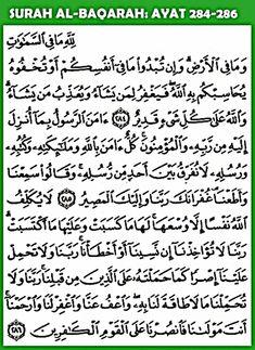 3 ayat terakhir al baqarah - Penelusuran Google