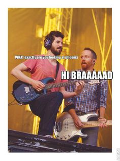 LINKIN PARK BRAD DELSON AND PHOENIX