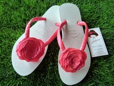 chinelos decorados on Pinterest | Bridal Flip Flops, Flip Flops and