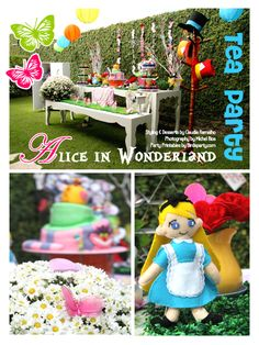 Bird's Party Blog: Cool Customers: Alice in Wonderland Inspired Mad Hatter Tea Party!