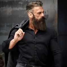 zippertravel bluebeard beard haircut, beard no mu Beard Look, Sexy Beard, Epic Beard, Full Beard, Long Beard Styles, Beard Styles For Men, Hair And Beard Styles, Great Beards, Awesome Beards