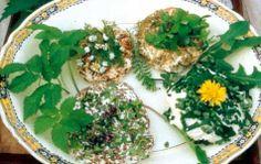 Der er masser ukrudt, der sagtens kan spises - og samtidig ser dekorativt ud på tallerkenen.