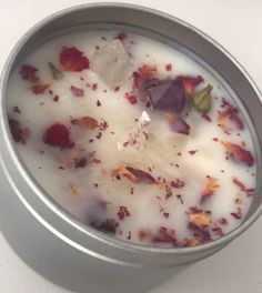 Excited to share this item from my shop: amethyst and clear quartz natural soy wax healing candle French Lavender, Clear Quartz Crystal, Love And Light, Amethyst, Wax, Healing, Candles, Natural, Etsy Shop