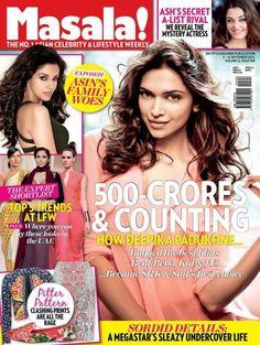 Deepika Padukone, Masala! Magazine [India] (4 September 2013)