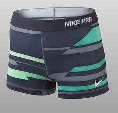 "Nike Pro Core Compression Print 2.5"" Women's Shorts"