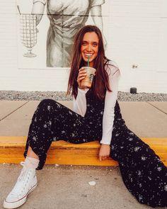 Curbside coffee lover