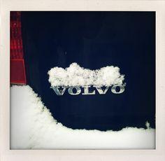 Volvo. Digital Polaroid.  As seen in Haarlem, winter 2011.