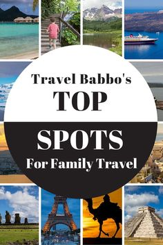 These are our favorite places and things in the world in family travel: destinations; hotels; restaurants; tours; guides and activities, all based on personal experience.