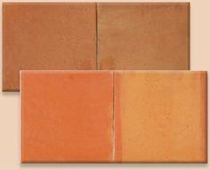Saltillo Mexican clay tile for the floor.