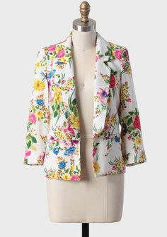 This isn't really a necessity, and I probably won't buy a floral blazer, but I love it!