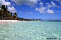 Saona Island - Canto de La Playa - Dominican Republic http://www.escapetraveler.com/isla-saona-dominican-beach-island-paradise/ www.escapetraveler.com www.facebook.com/escapetraveler www.twitter.com/escapetraveler