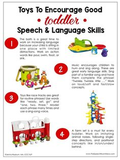 As Black Friday nears and shopping lists are made, SLPs have the opportunity to recommend great toys to increase speech and language skills. I wanted to make some handouts to send home with my stud. Speech Therapy Activities, Speech Language Pathology, Language Activities, Speech And Language, Articulation Activities, Preschool Activities, Toddler Speech Activities, Sensory Therapy, Play Therapy