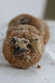 Orechové koláčiky s marcipánom