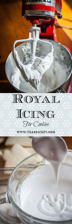 A simple recipe for Royal Icing that works well for decorating cut out cookies!