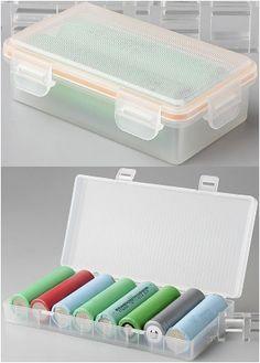 Packs boîtes étanches pour accus 18650 - 3,50 / 7€ fdp in -- http://www.vapoplans.com/2014/07/boite-etanche-pour-accus-18650-110-fdp_9.html