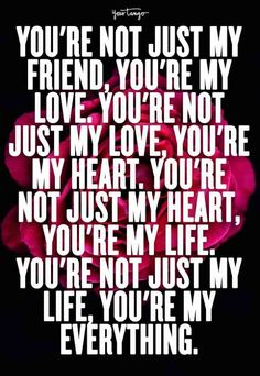 40 Romantic Quotes For Valentine's Day That'll Make You Fall In Love All. 40 Romantic Quotes For Valentine's Day That'll Make You Fall In Love All. Intan Barbie Dating Facts 40 Romantic Quotes For Valentine's Day That'll Make You Fall In Love All. Cute Love Quotes, Soulmate Love Quotes, Love Quotes For Her, Love Yourself Quotes, Heart Quotes, Quotes For Wife, Soul Qoutes, Husband Quotes, My Everything Quotes