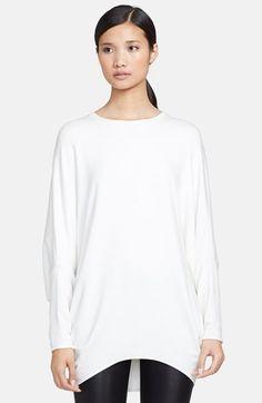 Helmut Lang 'Villous' Round Shape Sweatshirt
