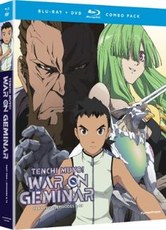 Tenchi Muyo: War on Geminar DVD/Blu-ray Part 2 (Hyb)  #RightStuf2013