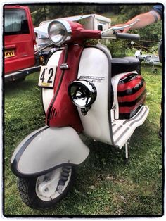 Lambretta Rally master done right.
