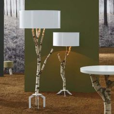 birch lamps