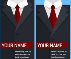Creative suit with business cards vector set 09