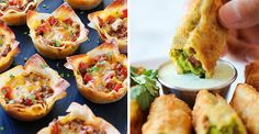 25 Delicious Bite-Size Treats Made With Wonton And Egg Roll Wrappers The possibilities are pretty much endless.