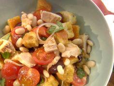 Tuna Bread Salad from FoodNetwork.com
