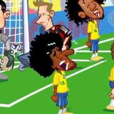 Lo mejor del Mundial Brasil 2014, en dibujos animados