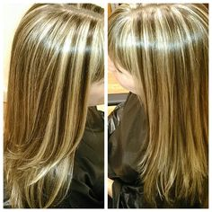 2 Color Highlight Blonde Slices And Dark Blonde Weave