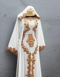 Kaftan Abaya Dubai White Caftan Maxi Dress Bohemian Vintage Premium Quality one size fits all Oversized Dress UK20 US18 size Party Dress