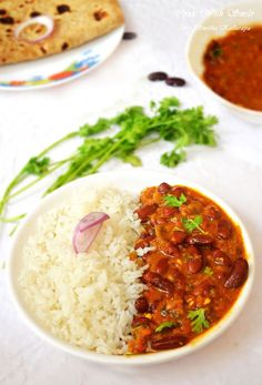 Authentic Easy Punjabi rajma recipe with step by step photos - Punjabi Rajma Recipe or Rajma masala – a popular punjabi dish .Boiled Red kidney beans are simmered in spicy onion-tomato gravy. Red Kidney beans curry is a healthy dish. Rajma Recipe Punjabi, Rajma Masala Recipe, Punjabi Recipes, Bean Recipes, Veggie Recipes, Vegetarian Recipes, Cooking Recipes, Curry Recipes, Rice Recipes