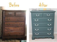 Painting Used Furniture Can Save You Loads Of Money Here Is A Step By Tutorial How An Old Dresser Found New Life For Little S Room