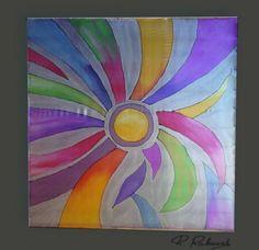 pañuelos de seda pintados a mano - Buscar con Google