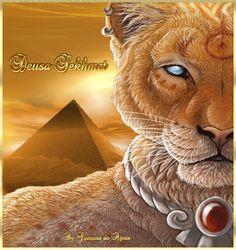 Cantinho de Imagens da Guerreira: Deusa Sekhmet